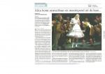 Dagblad vh Noorden_25052010 Alice komt onstuitbaar en meeslepend uit de kast